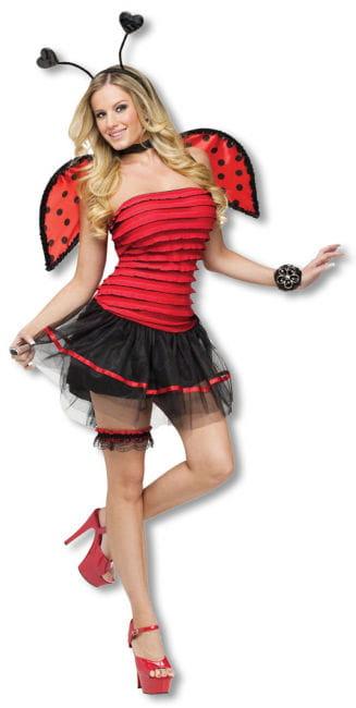 Sexy Marienkäfer Kostüm M/L 38-40 M/L 38-40