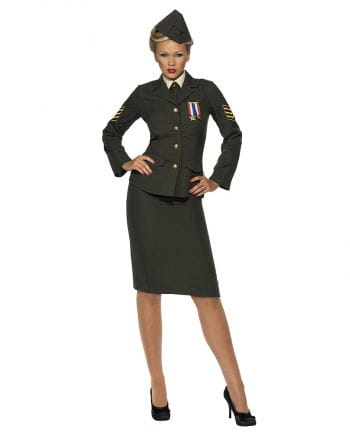 Sexy Soldatin Kostüm