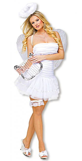 Sexy White Angel Costume