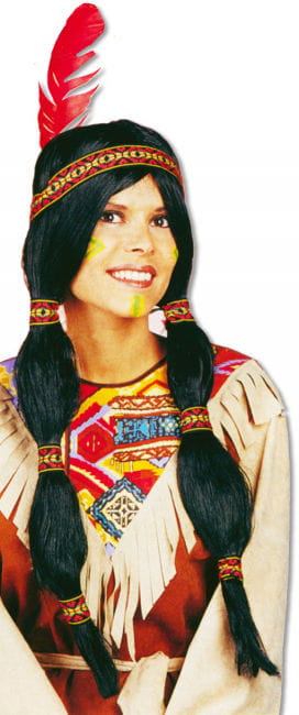 Sioux Indian Girl Wig