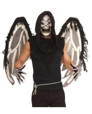 Skeleton Set with Mask & Wings 4Pcs.