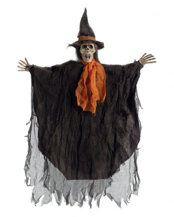 Skeletal Witch Hanging Prop
