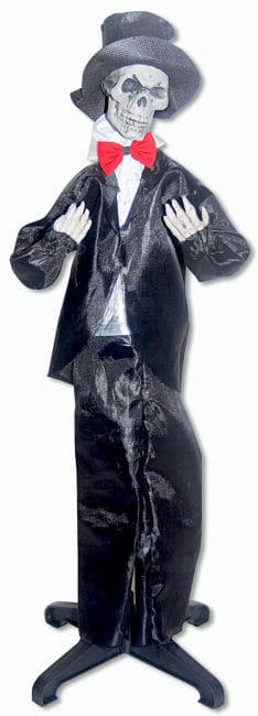 Skeleton Groom Hanging and Standing Prop