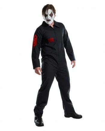 Slipknot jumpsuit costume with Bügelbilder