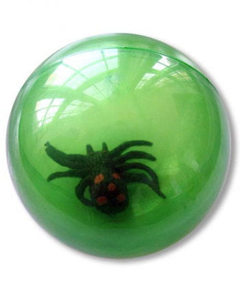 Springball mit Spinne grün
