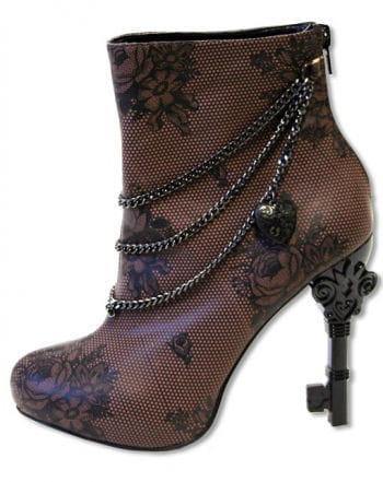 Steampunk Stiefelette viktorianisch
