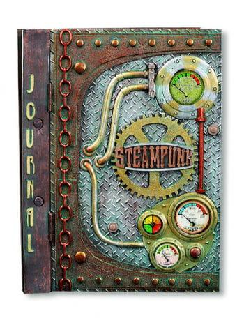 Steampunk Notizbuch