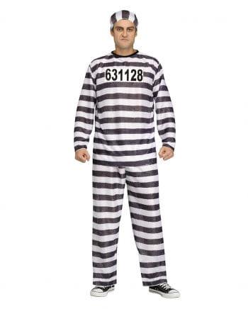Sträfling Kostüm Jailbird