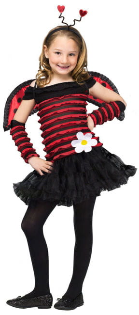 Sweet Ladybug Child Costume