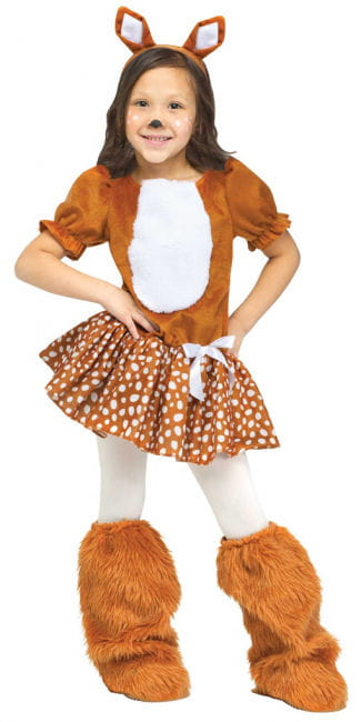 Sweet Fawn Toddlers Costume