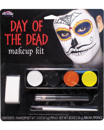 Day Of The Dead Mustache Man Makeup