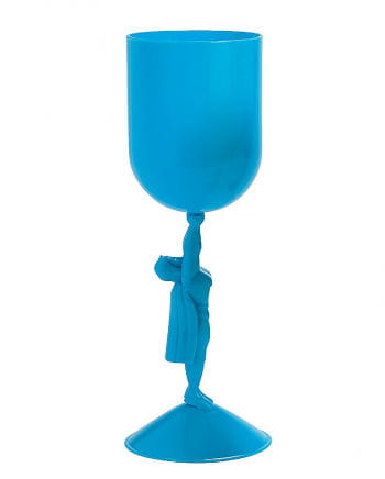 Superhelden Kelch blau