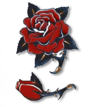 Rose Oldschool Tattoo