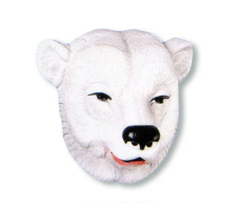 Tier Maske Eisbär