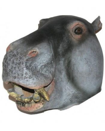 Tiermaske hippopotamus