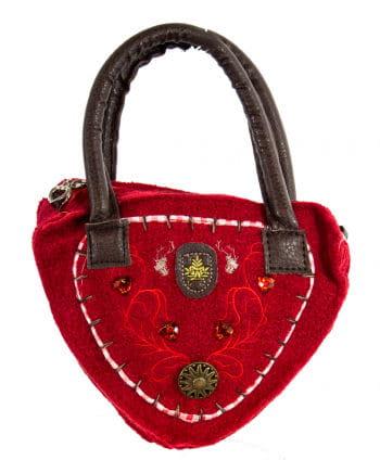 Tyrolean Damentasche Delux Red