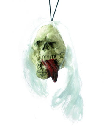 Shrunken Head with Lolling Tongue