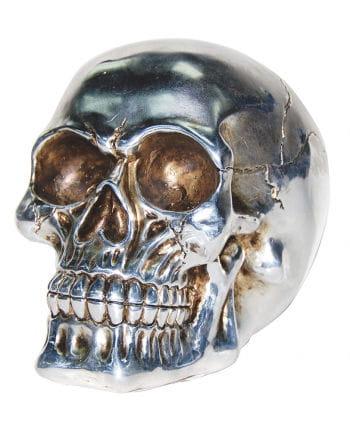 Totenschädel Silber