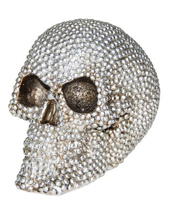 Skull Strass-Optik 16cm