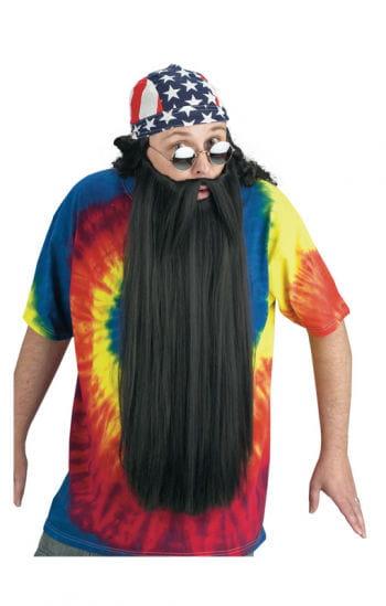 Ultra long black beard