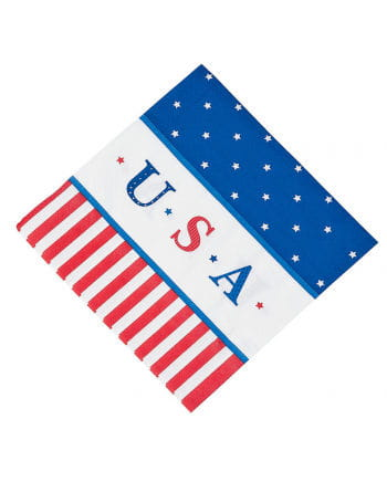 USA Paper Napkins 16 pc