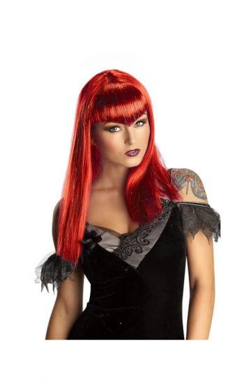 Vampiress Glitter Wig Red