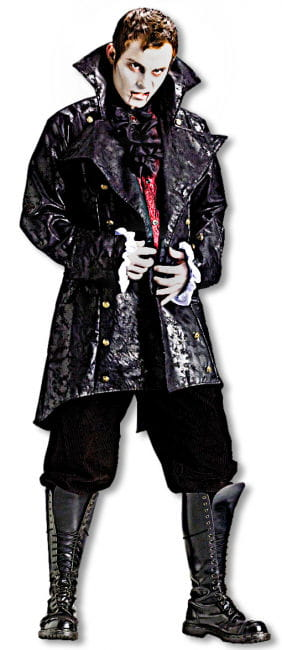 Vampire Jacket mit krausem Ärmelaufschlag