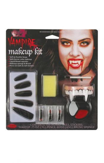 komplett make up kit vampiress vampir prinzessin selbst. Black Bedroom Furniture Sets. Home Design Ideas