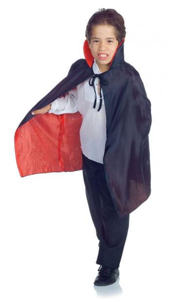 Vampir Kinderumhang schwarz/rot