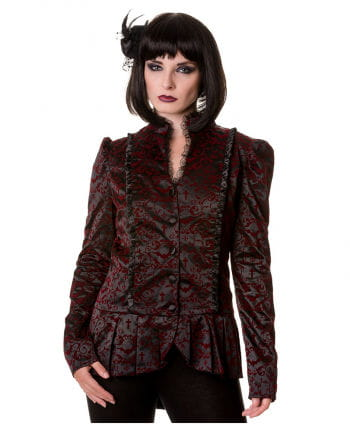 Gothic Jacket black red