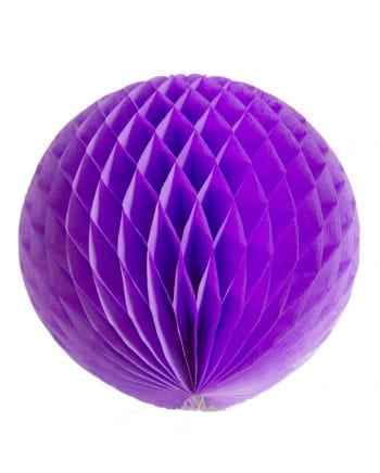 Wabenball violett 30 cm