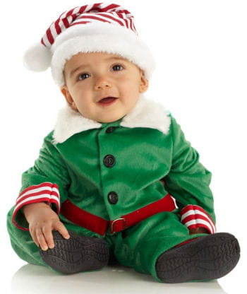 Christmas Elf Child Costume Large