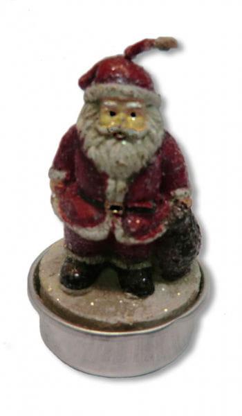 Weihnachtsmann Teelicht