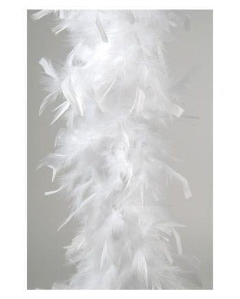 Federboa ca. 185 cm weiß