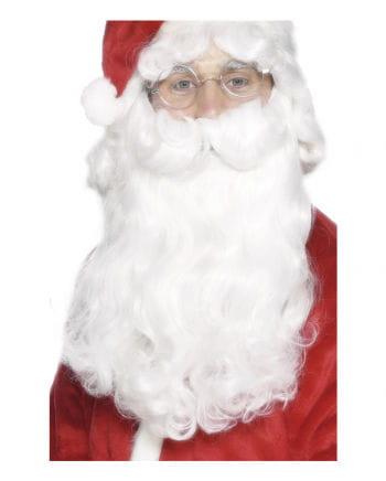 Weißer Nikolaus Bart