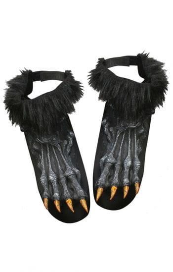 Werewolf Feet Black