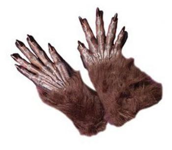 Werewolf Gloves Brown