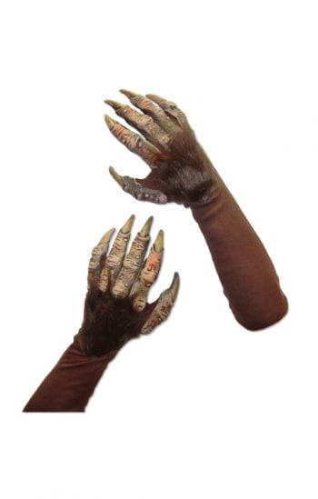 Werwolf Handschuhe Deluxe Braun