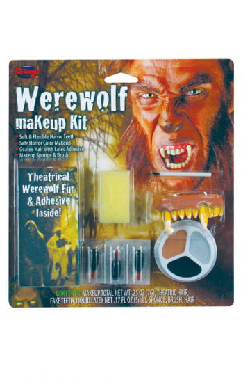 Complete Make Up Kit werewolf