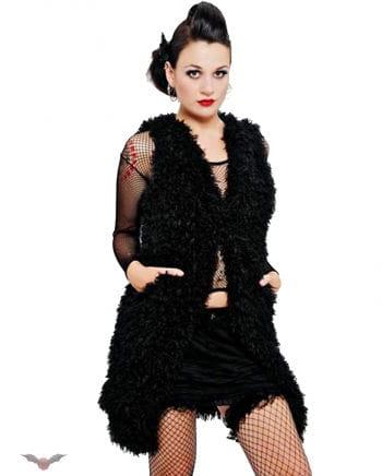 Fake Fur Waistcoat L