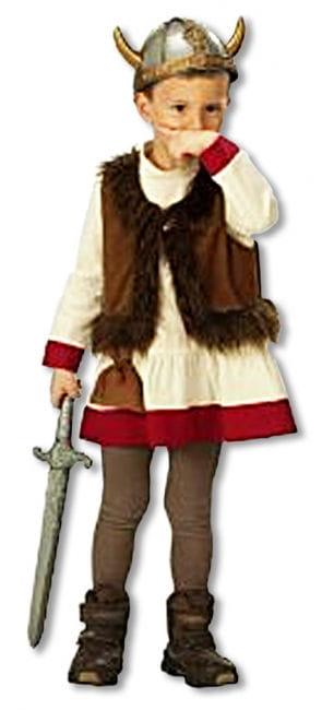 Wikinger Kostüm für Kinder 104 German child size 104