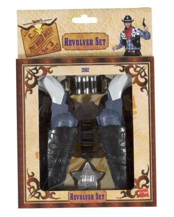 Wild West Revolver Set