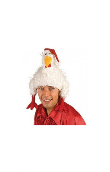 Funny chicken hat