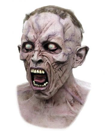 World War Z Zombie Scream mask Dlx