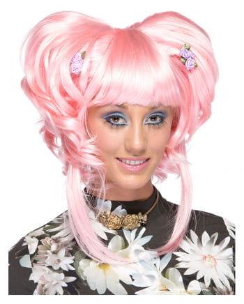 Damen Perücke Yuki pink