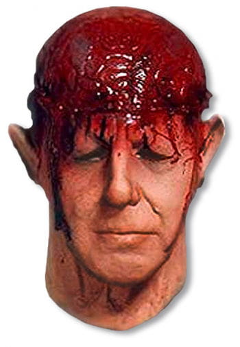 Zombie Braindead Foamlatex Maske
