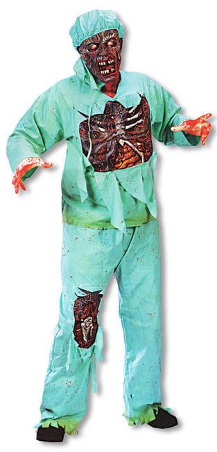 Zombie Doctor Costume Plus Size XL