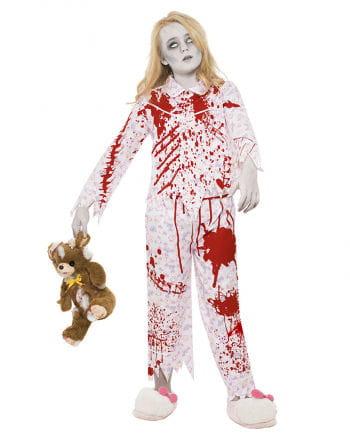 Zombie Pyjama für Mädchen