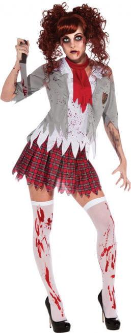 Zombie Schoolgirl