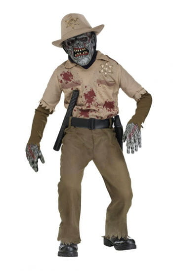 Zombie Sheriff Child Costume Deluxe